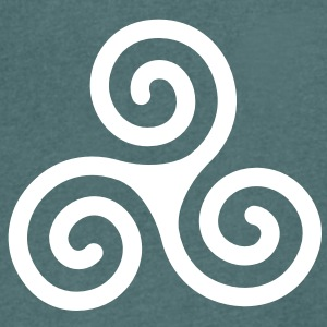 celtic Triskelion T-Shirts - Men's V-Neck T-Shirt
