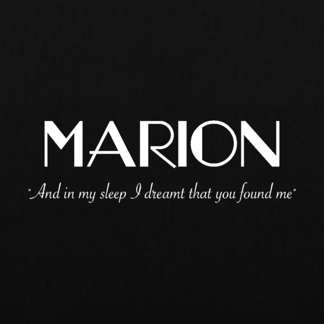 Marion: Sleep - Tote Bag