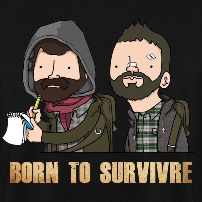Sweatshirt Born to Survivre