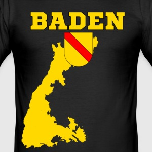 Baden T-Shirts - Männer Slim Fit T-Shirt