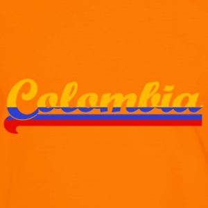 colombia T-shirts - Mannen contrastshirt