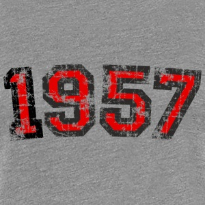 Year 1957 Birthday Vintage T-Shirts - Women's Premium T-Shirt