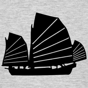 chinese junk asia boat T-Shirts - Men's T-Shirt