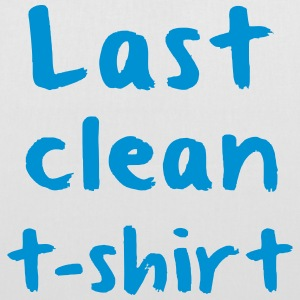 LAST CLEAN SHIRT Bags & Backpacks - Tote Bag