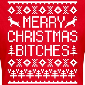 Merry Christmas Bitches  T-Shirts - Women's T-Shirt