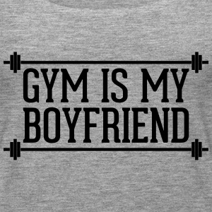 Gym Is My Boyfriend  Tops - Women's Premium Tank Top