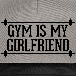 Gym Is My Girlfriend  Caps & Mützen - Snapback Cap