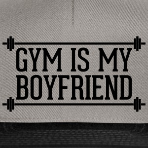 Gym Is My Boyfriend  Caps & Hats - Snapback Cap