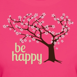 Be happy - Frauen Bio-T-Shirt