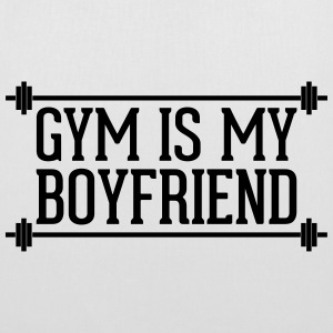 Gym Is My Boyfriend  Sacs et sacs à dos - Tote Bag