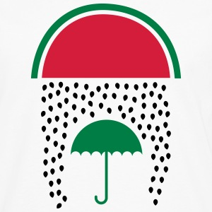 Watermelon Rain Long sleeve shirts - Men's Premium Longsleeve Shirt