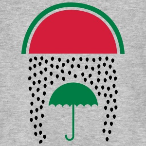 Watermelon Rain T-Shirts - Men's Organic T-shirt
