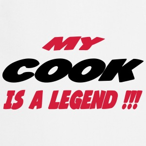 My cook is a legend 111  Aprons - Cooking Apron
