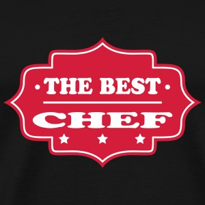 The best chef 111 T-shirts - Herre premium T-shirt