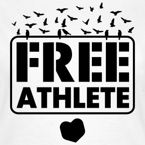 Free Athlete Freedom Birds - Frauen T-Shirt