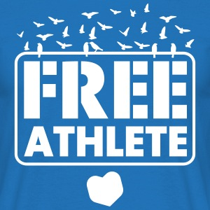 Free Athlete Freedom Birds - Männer T-Shirt