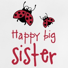 happy_big_sister_08_2015_b_3c T-Shirts