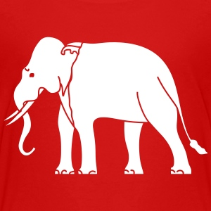 Siamese Asian Elephant Shirts - Teenage Premium T-Shirt