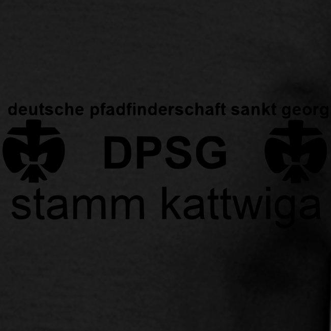 DPSG Kattwiga Männer T-Shirt Version 1 (Aufdruck Schwarz)