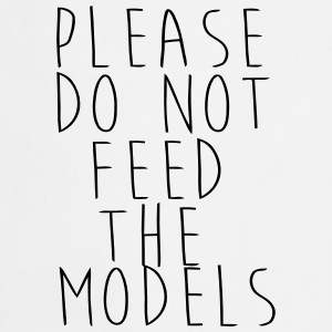 PLEASE NOT THE FEEDING OF THE MODELS! Forklæder - Forklæde