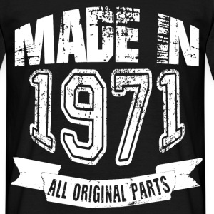 Made in 1971 - Camiseta hombre