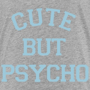 CUTE BUT PSYCHO Skjorter - Premium T-skjorte for barn