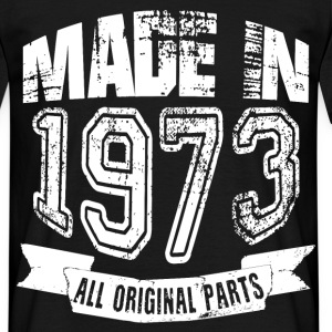 Made in 1973 - Camiseta hombre