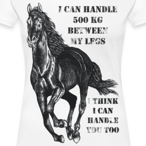I Think I Can Handle You T-shirts - Premium-T-shirt dam