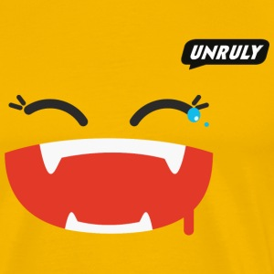 Unruly Joy Yellow Male - Men's Premium T-Shirt