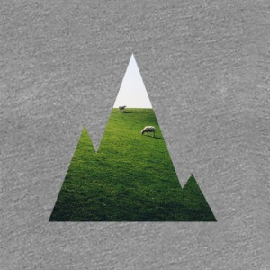 Mountain View - Frauen Premium T-Shirt