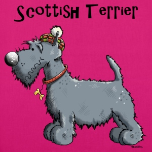 Happy Scottish Terrier Bags & Backpacks - EarthPositive Tote Bag