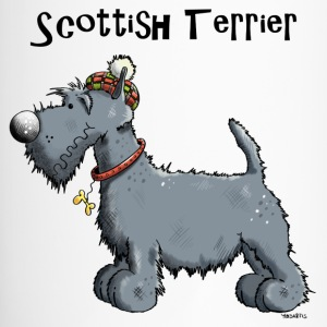 Happy Scottish Terrier Mugs & Drinkware - Travel Mug