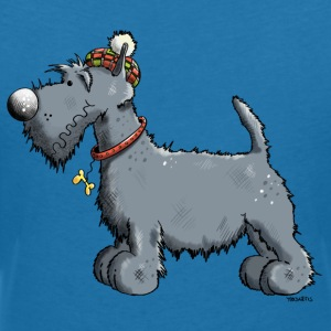 Terrier écossais - Scottish Terrier Tee shirts - T-shirt col V Femme