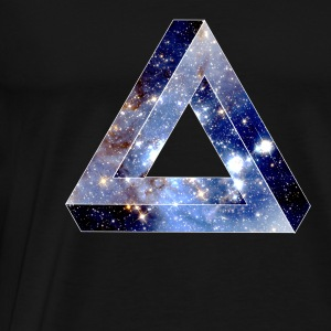 Penrose Triangle T-Shirts - Men's Premium T-Shirt