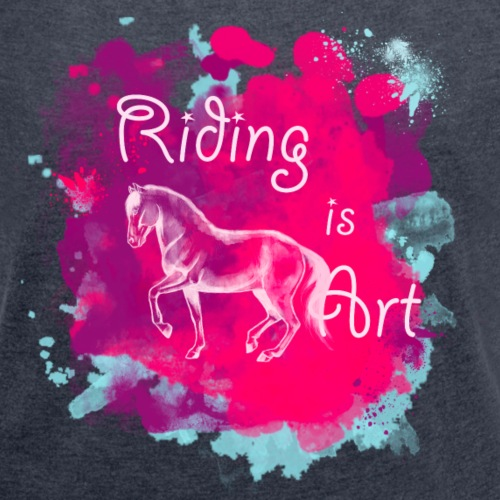 RidingArt Pink Splash