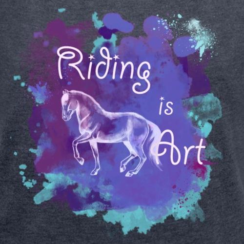 RidingArt Purple Splash