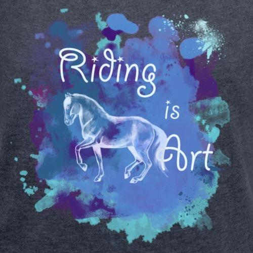 RidingArt Blue Splash