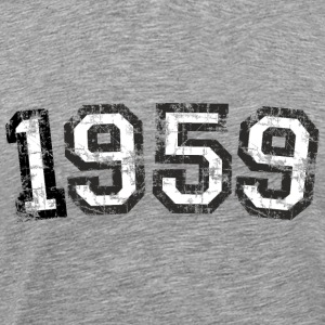 Year 1959 Birthday Vintage T-Shirts - Men's Premium T-Shirt