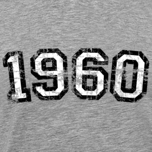 Year 1960 Birthday Vintage T-Shirts - Men's Premium T-Shirt