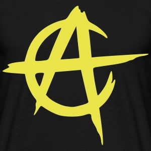 anarcho capitalism vector T-shirts - Herre-T-shirt