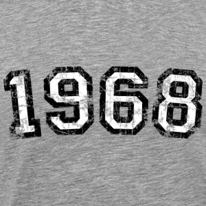 Year 1968 Birthday Design Vintage Anniversary T-Shirts - Men's Premium T-Shirt