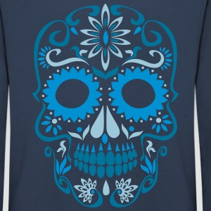 sugar skull day of the dead Long Sleeve Shirts - Kids' Premium Longsleeve Shirt