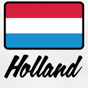 Nationale flag af Holland Accessories - Baby økologisk hagesmæk
