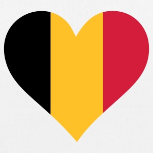 A heart for Belgium Bags & Backpacks - EarthPositive Tote Bag