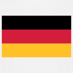 Nationell tysk flagg T-shirts - T-shirt herr