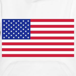 Nationalflagge von USA Pullover & Hoodies - Kinder Premium Hoodie