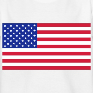 National flag of USA Shirts - Kids' T-Shirt