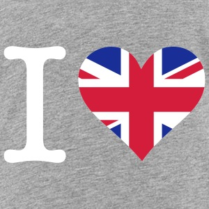 I love the United Kingdom Shirts - Teenage Premium T-Shirt