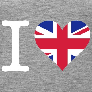 I love the United Kingdom Tops - Women's Premium Tank Top