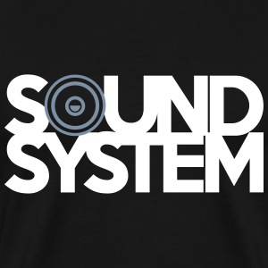 Sound System Tee shirts - T-shirt Premium Homme